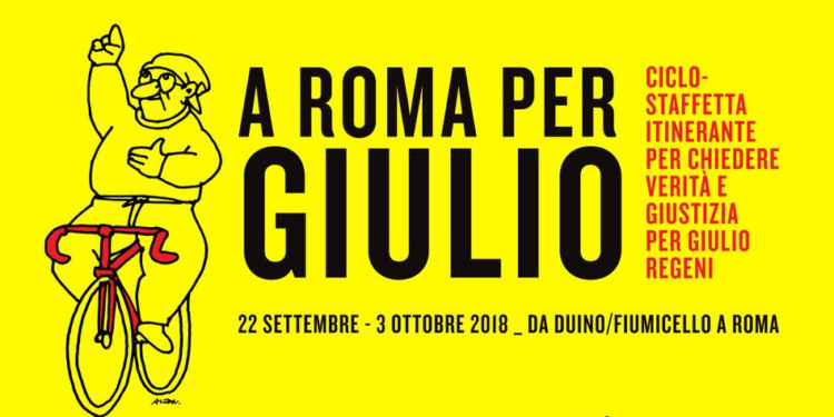 A Roma per Giulio Regeni