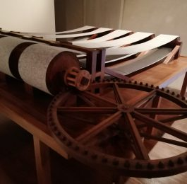 Filatoio di Caraglio - L'altra tela di Leonardo