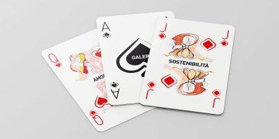 Mazzo di carte per creativi: Le Galeotte